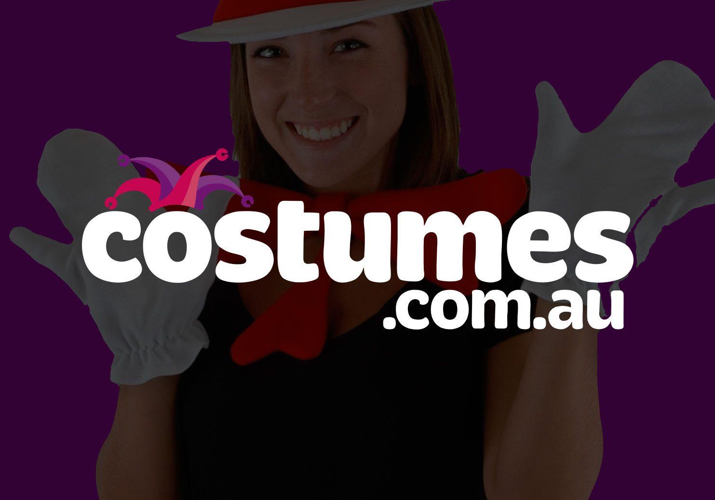 Costumes.com.au<br>Brand / Web Design